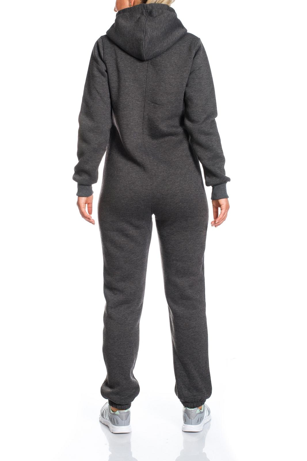 damen jumpsuit jogger jogging anzug trainingsanzug overall. Black Bedroom Furniture Sets. Home Design Ideas
