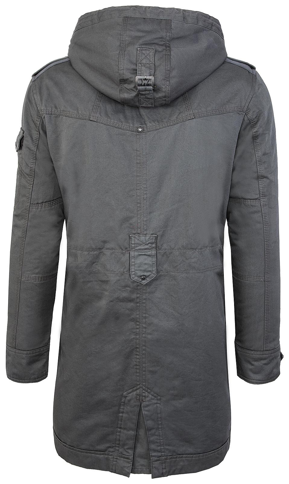 herren vintage jacke outdoor parka grau fieldjacket mantel. Black Bedroom Furniture Sets. Home Design Ideas