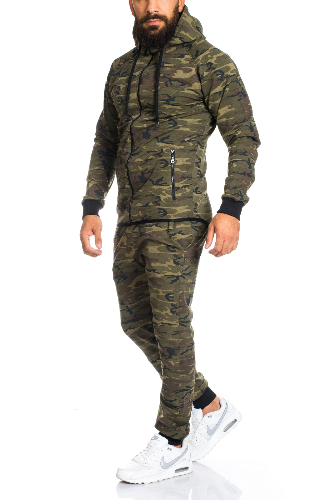 herren camouflage army jogginganzug jogging hose jacke sportanzug hose ll202c ebay. Black Bedroom Furniture Sets. Home Design Ideas