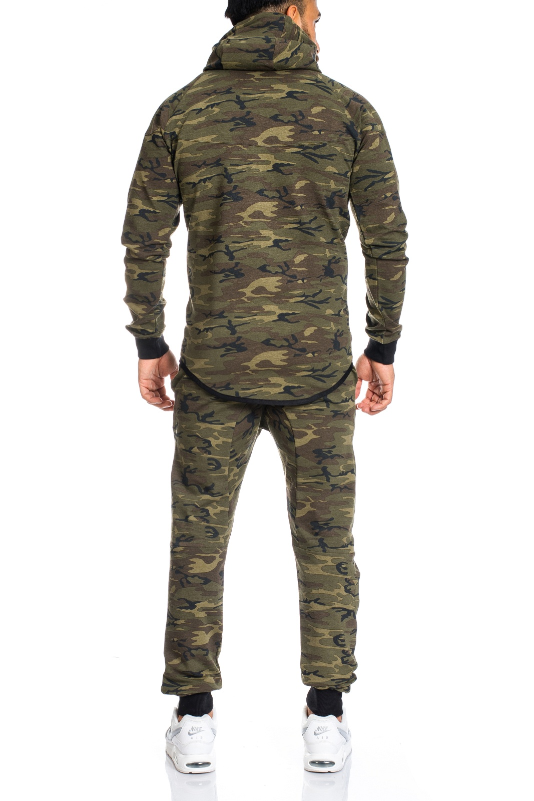 men 39 s camouflage army jogging suit jogging pants jacket trackies trousers ll202c. Black Bedroom Furniture Sets. Home Design Ideas
