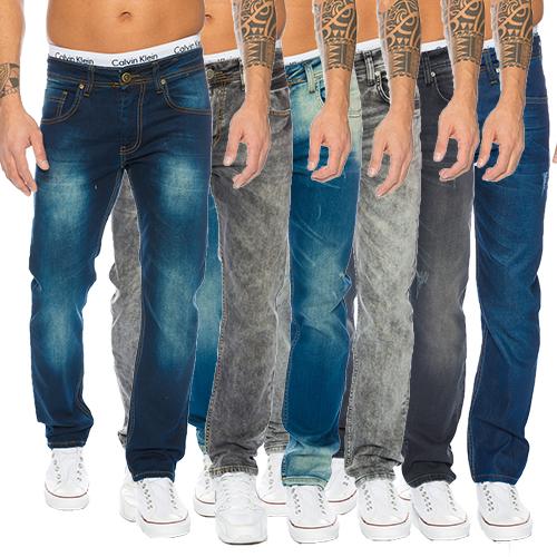 rock creek designer men 39 s jeans denim stretch jeans trousers regular fit new m1 ebay. Black Bedroom Furniture Sets. Home Design Ideas