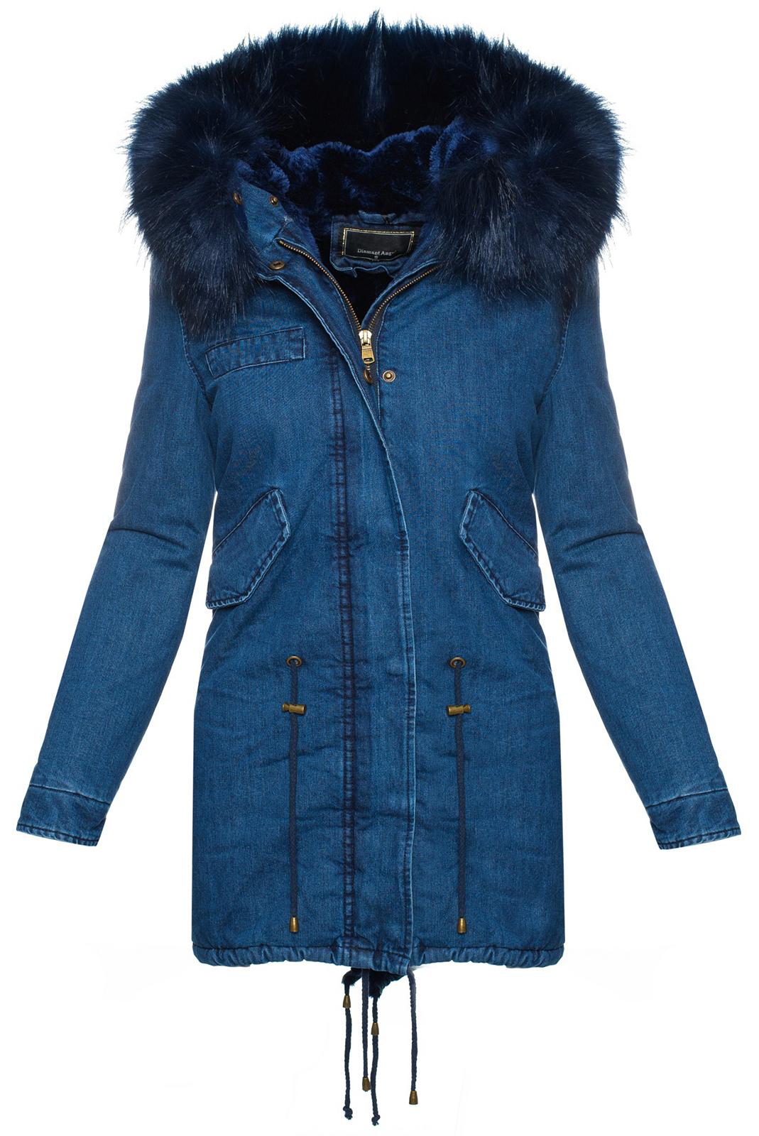 damen winter jacke jeansjacke damen mantel xxl fell kapuze. Black Bedroom Furniture Sets. Home Design Ideas