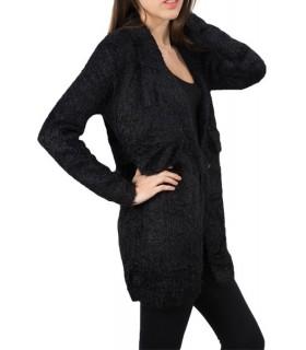 Damen Übergangs Jacke Damen Pulli Wolljacke Strickjacke Pullover