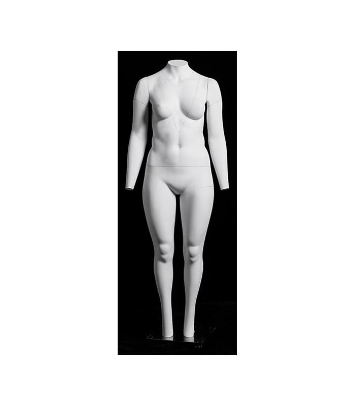 Damenfigur Mannequin Schaufensterpuppe für Übergrößen Damen puppe A3