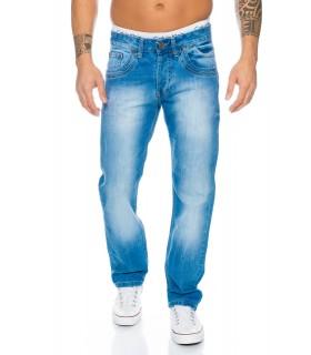 Rock Creek Herren Designer Clubwear Party Jeans Hose Hell Blau RC-2017