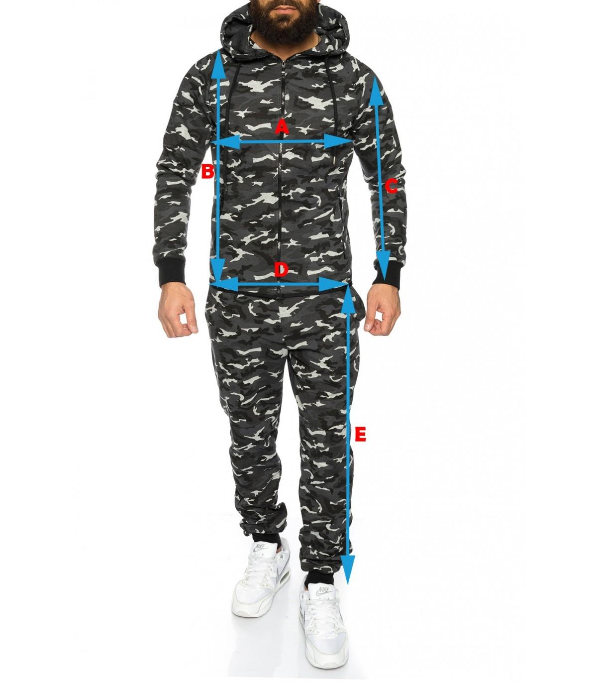 Camouflage Anzug
