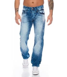 Herren Jeans Designer Blau Vintage Denim Herrenjeans RC-2013