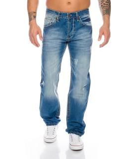 Dicke Naht Party Clubwear Designer Jeans Used Vintage RC-2025