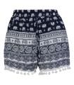 Damen Harem Shorts Sommer Shorts Azteken Hose Rock kurz Beach Short