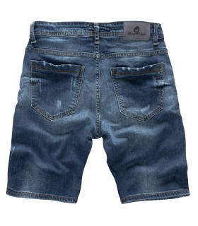 Rock Creek Herren Jeans Shorts Dunkelblau RC-2125