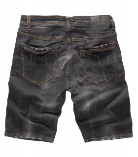 Rock Creek Herren Jeans Shorts Dunkelgrau RC-2124