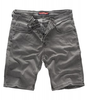 Rock Creek Herren Jeans Shorts Grau RC-2135