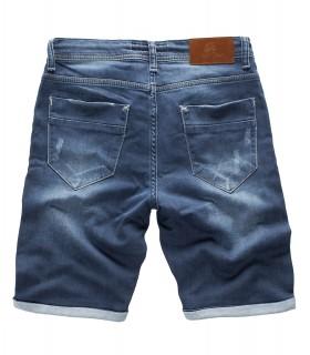 Rock Creek Herren Sweat Shorts Jogg Jeans Shorts Blau RC-2200