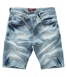 Rock Creek Herren Jeansshorts Hellblau RC-2126