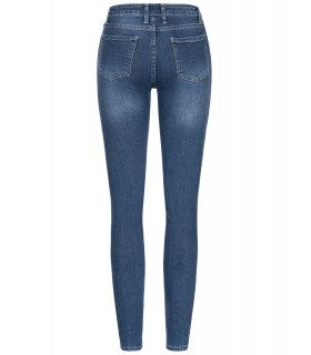 Rock Creek Damen Jeans Skinny Stretch Dunkelblau D-398