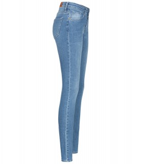 Rock Creek Damen Skinny Jeans Blau Stonewashed D-399