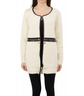 Damen Pullover Sweatjacke Damen Jacke Cardigan Strickjacke One Size