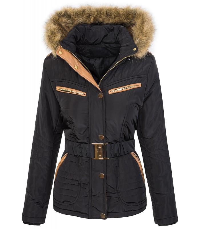 Designer Damen Jacke Parka Mantel Winterjacke Steppjacke warm gefüttert
