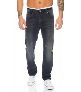 Designer Herren Jeans Stretch Jeanshose Denim Schwarz Hose