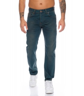 Lorenzo Loren Herren Jeans Hose Dirty-Wash Herrenjeans Denim Use