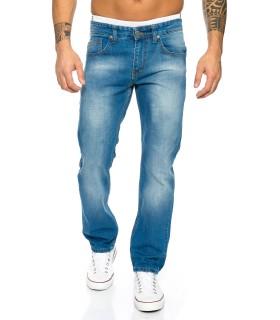 Jeans Hose Herren Jeans Blau Use