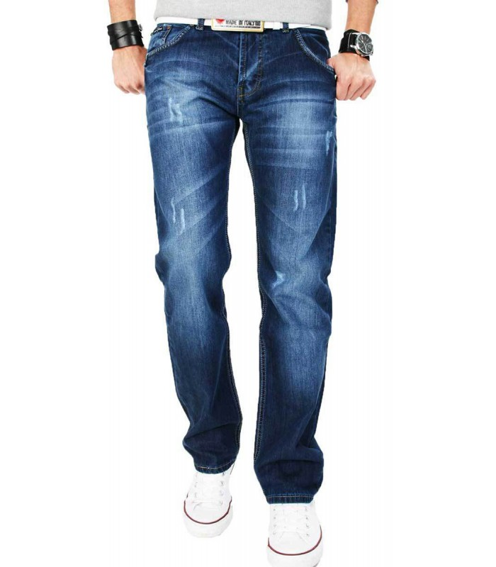 Party Clubwear Stonewash Designer Jeans Vintage Destroyed