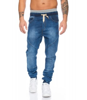 Herren Jeans Hose Jogging Sweathose Chino Drop Crotch LL2523