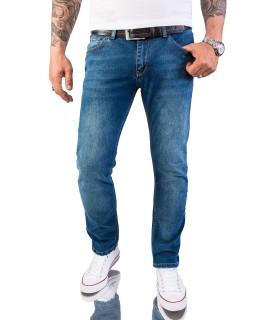 Rock Creek Herren Jeans Slim Fit Hellblau RC-2147