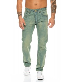 Rock Creek Herren Jeans Regular Fit Hellblau RC-2103B