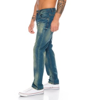 Rock Creek Herren Jeans Regular Fit Hellblau RC-2103A