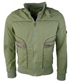 Herren Übergangs Jacke Outdoor Jacke Vintage Sommer Jacke Herrenjacke  S-3XL
