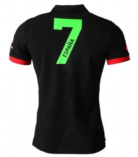 Herren Poloshirt Slim Fit Hemd Polokragen Espana T-Shirt Kurzarm Hemd Sommer