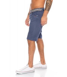 Herren Chino Shorts mit Gürtel H-111