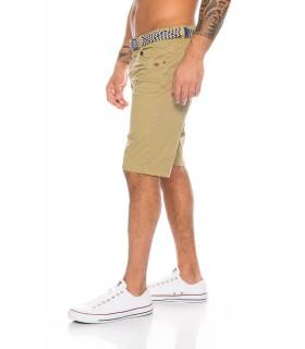 Herren Chino Shorts inkl Gürtel H-111