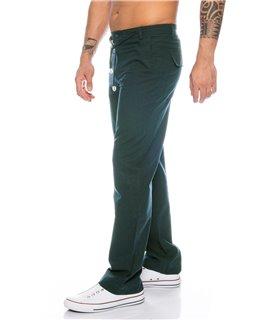 Herren Leinen Optik Hose Pant Chino Sommer Stoffhose Herrenhose H-156