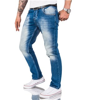 Rock Creek Herren Jeans Comfort Fit Blau RC-3119