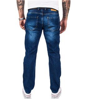 Rock Creek Herren Jeans Comfort Fit Blau RC-3120