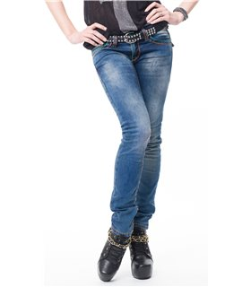 Rock Creek Damen Jeans Regular Fit Blau RC-2074
