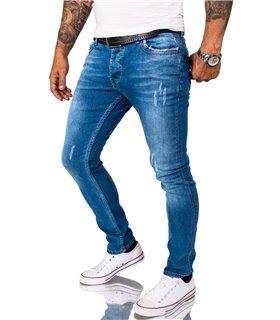 Rock Creek Herren Jeans Slim Fit Blau RC-2163
