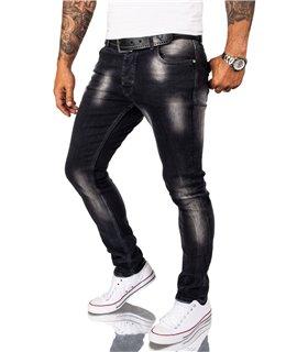 Rock Creek Herren Jeans Slim Fit Anthrazit RC-2261