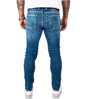 Rock Creek Herren Jeans Slim Fit Blau RC-2164