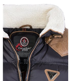 Canadian Peak Herren Stepp Winter Jacke Teddyfellkragen H-224