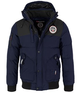 Geographical Norway Herren Stepp Winter Jacke Kapuze H-225
