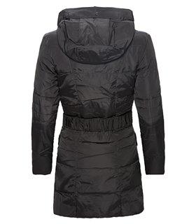 Damen Winter Jacke Steppmantel mit Kapuze D-114