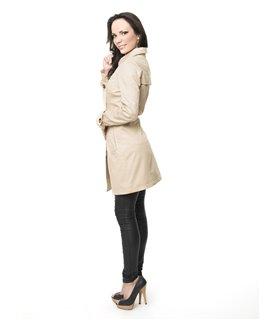 Damen Trenchcoat Mantel Übergangsjacke D-15