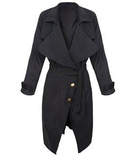 Damen Trenchcoat Mantel Damen Blogger D-302
