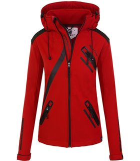 Rock Creek Damen Softshell Jacke mit Kapuze D-371