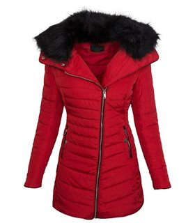 Designer damen jacke steppjacke mantel kurzmantel kunstfe
