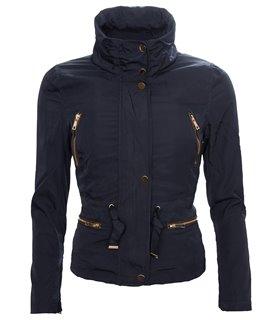 Damen Jacke Windbreaker Damenjacke Übergangsjacke Kapuze