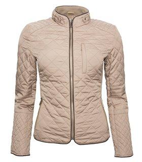 Damen Stepp Jacke Übergangsjacke gesteppte Jacke Kurzjacke Schwarz Rot Beige